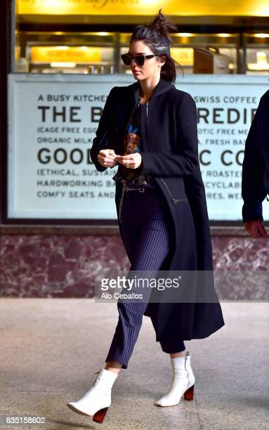 Kendall Jenner is seen in Midtown on February 13 2017 in New York City
