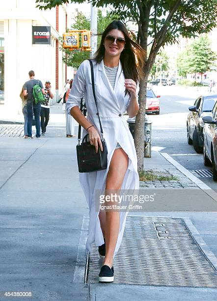 Kendall Jenner is seen in New York on August 30 2014 in New York City