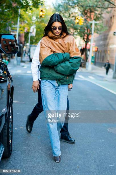 Kendall Jenner is seen in SoHo on November 8 2018 in New York City