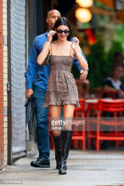 Kendall Jenner is seen in the East Village on June 19, 2019 in New York City.