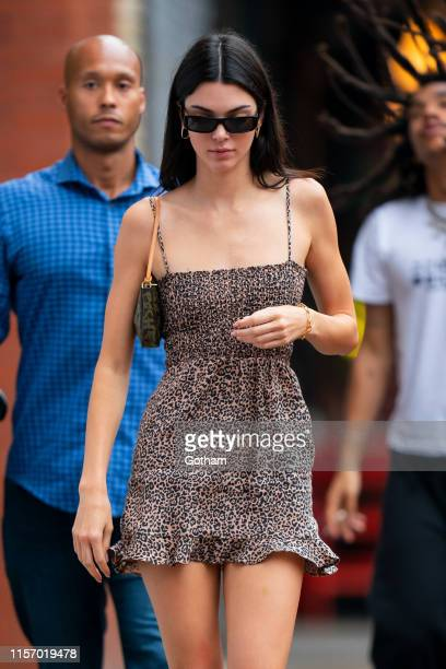 Kendall Jenner is seen in the East Village on June 19 2019 in New York City