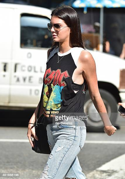 Kendall Jenner is seen leaving the movies in Union Square on July 3 2014 in New York City