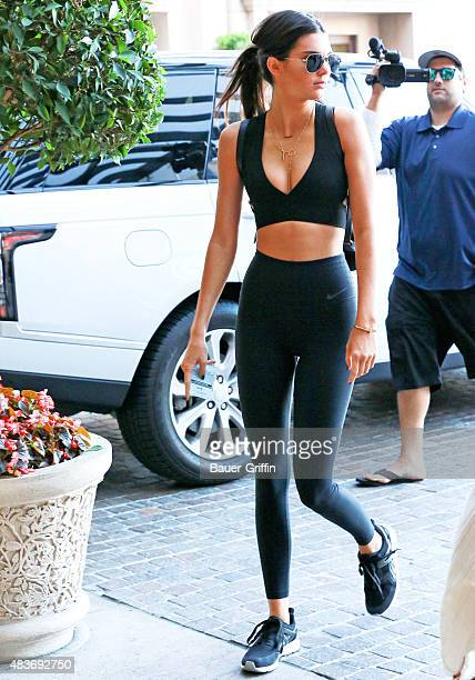 Kendall Jenner is seen on August 11 2015 in Los Angeles California