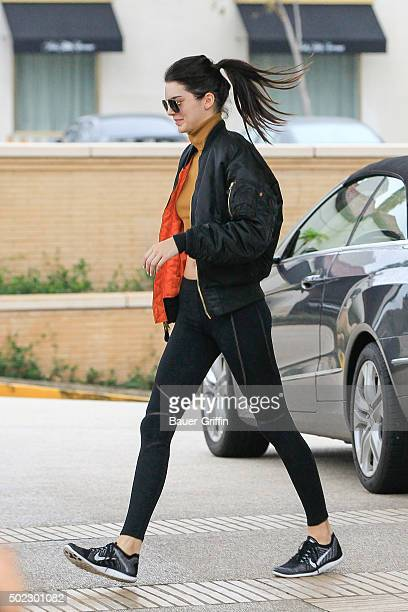 Kendall Jenner is seen on December 22 2015 in Los Angeles California