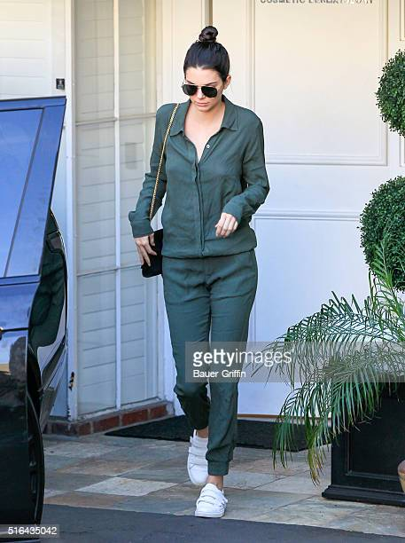 Kendall Jenner is seen on March 18 2016 in Los Angeles California