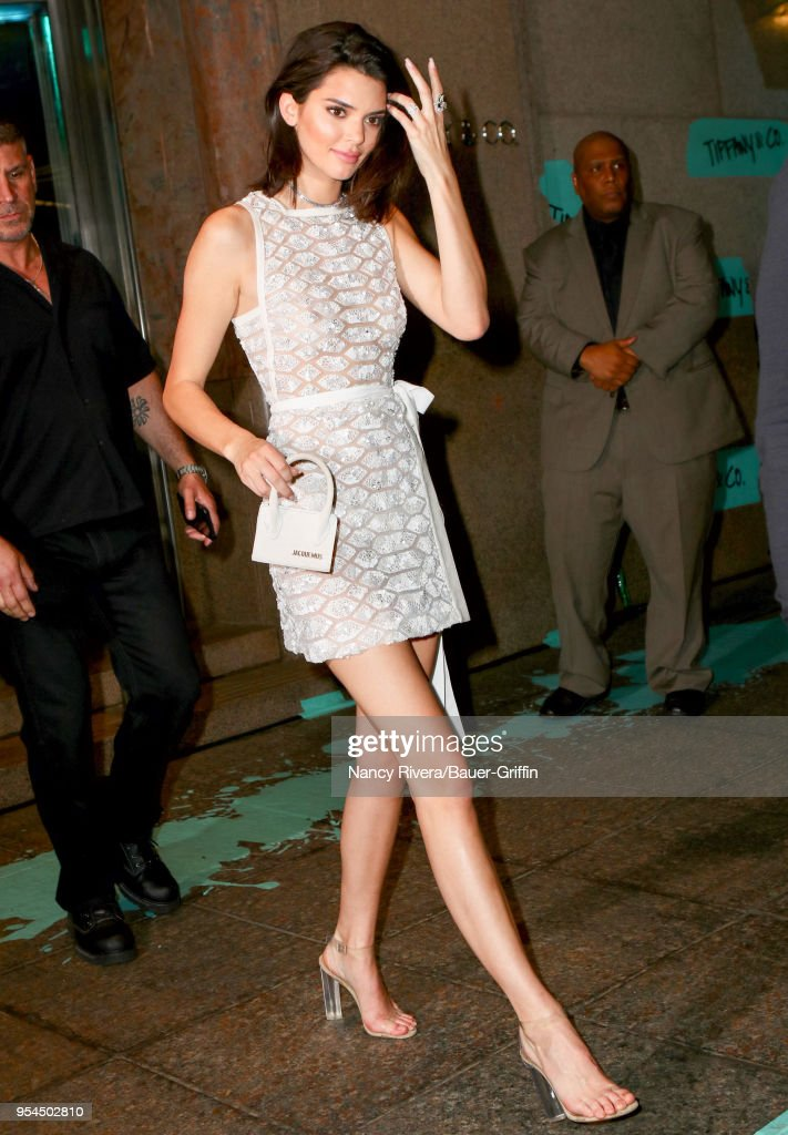 Celebrity Sightings In New York - May 03, 2018 : News Photo