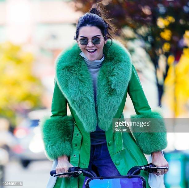 Kendall Jenner is seen on November 3 2018 in New York City