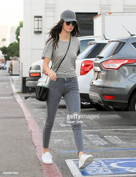 Kendall Jenner is seen on October 23 2015 in Los Angeles California