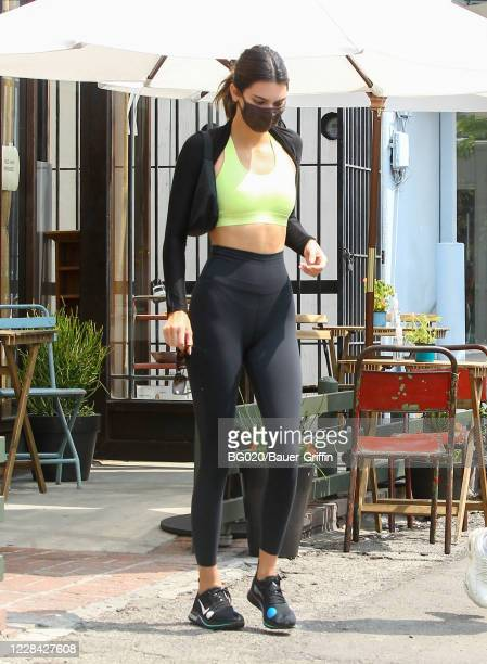 Kendall Jenner is seen on September 09 2020 in Los Angeles California