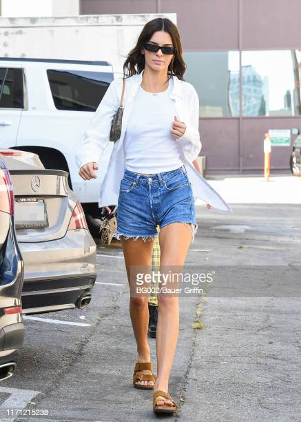 Kendall Jenner is seen on September 25 2019 in Los Angeles California