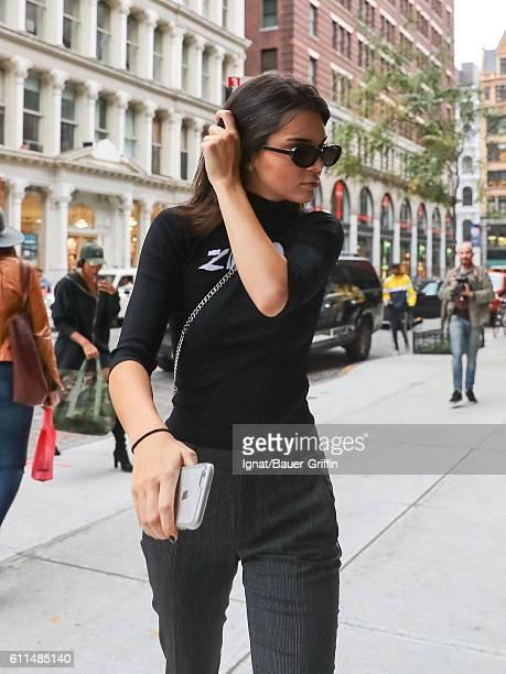 Kendall Jenner is seen on September 29 2016 in New York City