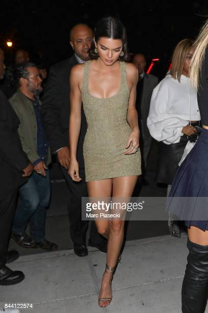 Kendall Jenner is seen on September 7 2017 in New York City