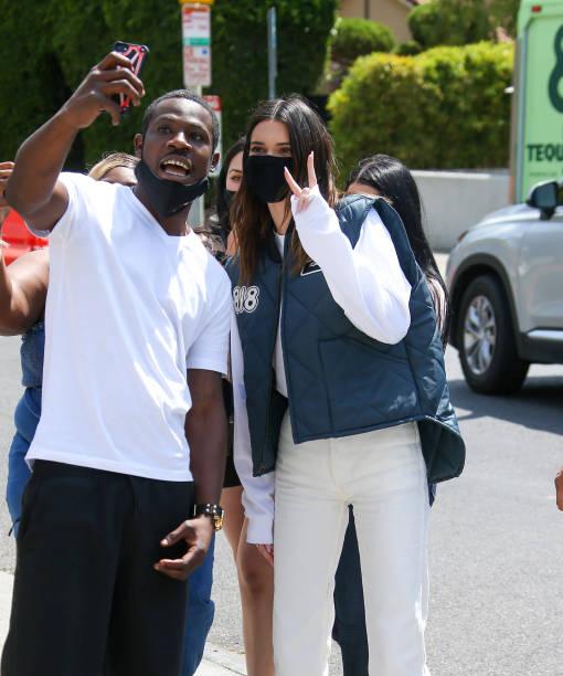 CA: Celebrity Sightings In Los Angeles - May 17, 2021