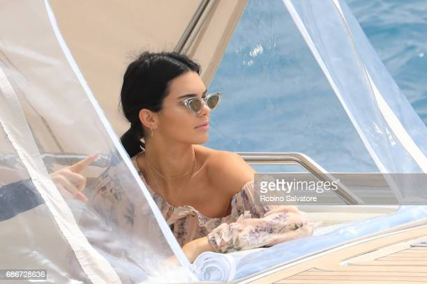 Kendall Jenner is spotted during the 70th annual Cannes Film Festival at on May 22 2017 in Cannes France