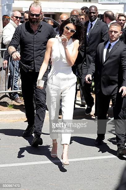 Kendall Jenner is unveiled as the new Magnum Global Ambassador during a photocall at the 69th annual Cannes Film Festival at Magnum Beach on May 12...