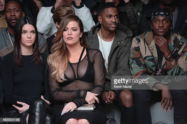 931585860c Kendall Jenner Khloe Kardashian Big Sean and Pusha T attend the adidas  Originals x Kanye West