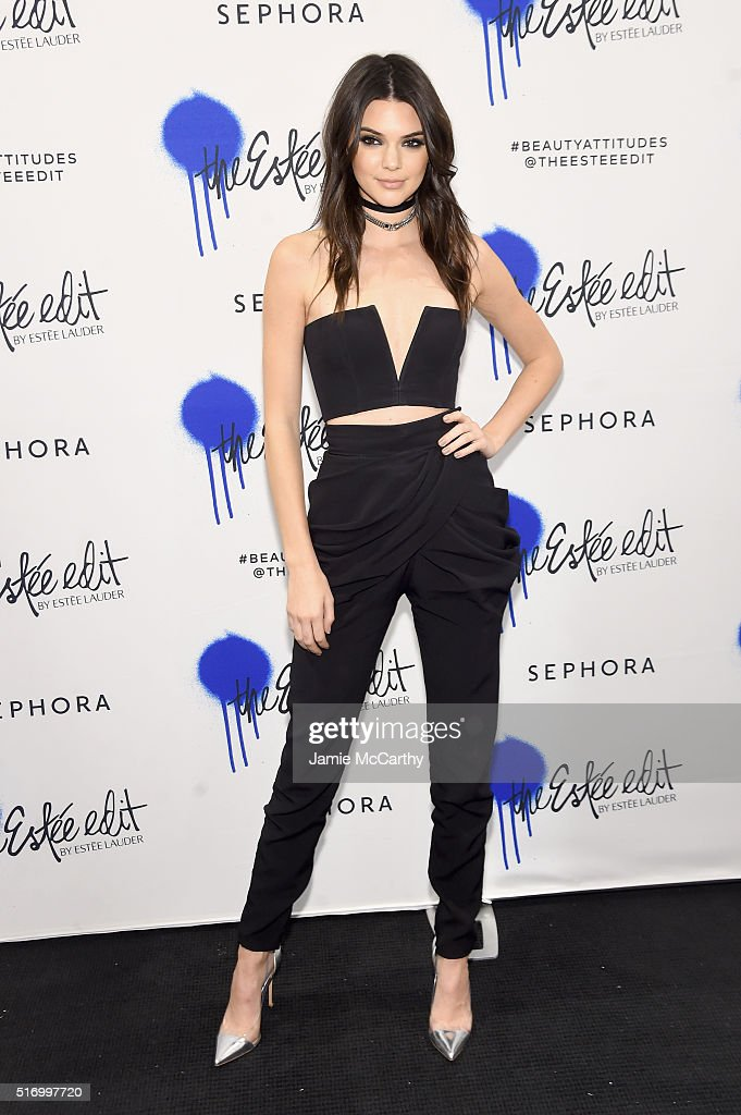 Kendall Jenner Kicks-Off The Launch Of The Estee Edit By Estee Lauder