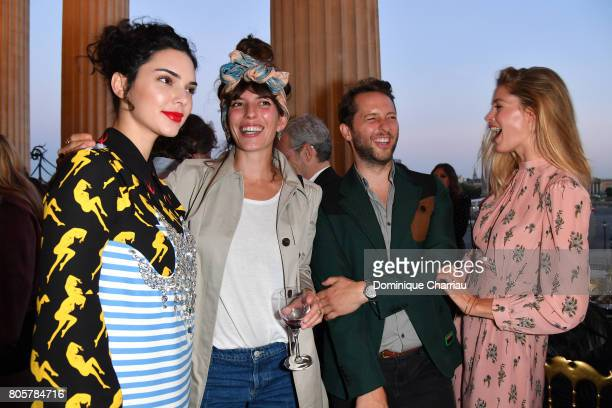Kendall Jenner Lou Doillon Derek Blasberg and Doutzen Kroes attend Miu Miu Cruise Collection cocktail party as part of Haute Couture Paris Fashion...
