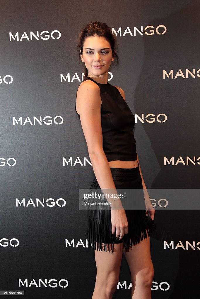 Kendall Jenner Presents 'Tribal Spirit The Secret Party' By Mango In Barcelona