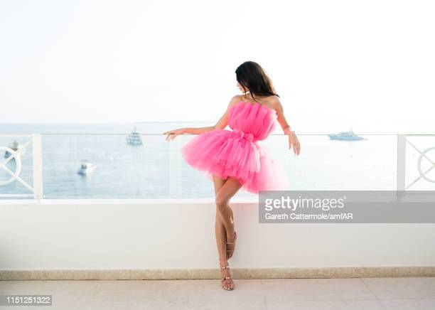 Kendall Jenner poses for portraits during the amfAR Cannes Gala 2019 at Hotel du Cap-Eden-Roc on May 23, 2019 in Cap d'Antibes, France.