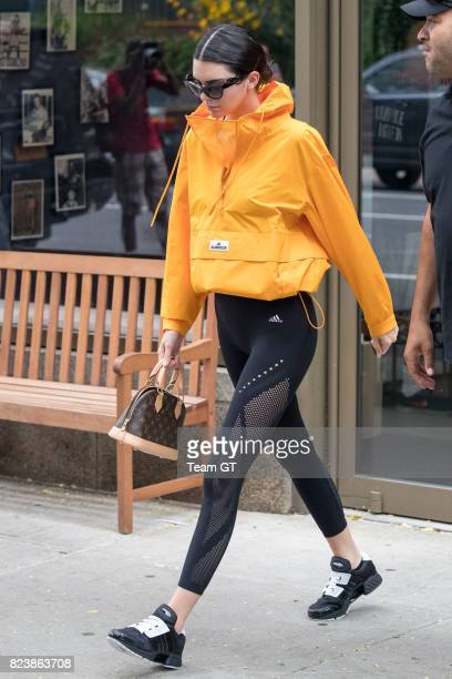 Kendall Jenner seen leaving gym on July 27 2017 in New York City