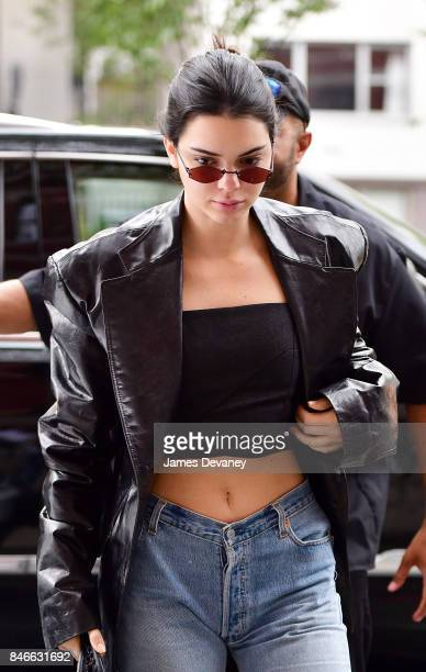 Kendall Jenner seen on the streets of Manhattan on September 13 2017 in New York City