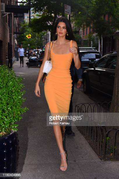 Kendall Jenner seen out and about in Manhattan on June 17, 2019 in New York City.