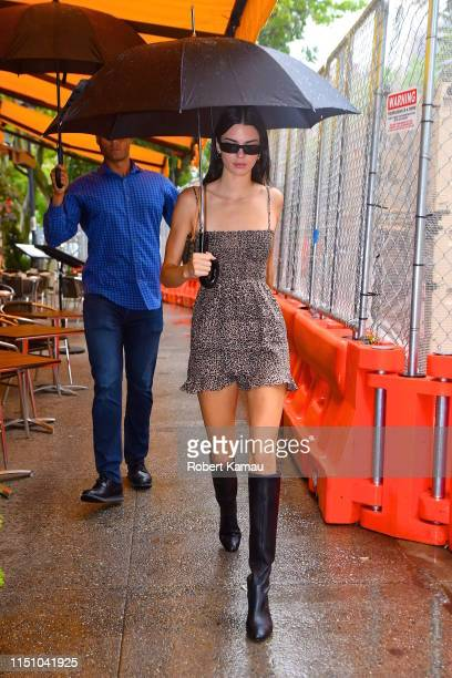 Kendall Jenner seen out and about in Manhattan on June 19, 2019 in New York City.