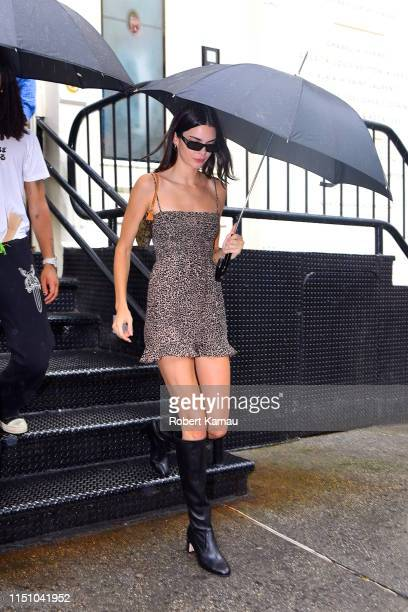 Kendall Jenner seen out and about in Manhattan on June 19 2019 in New York City