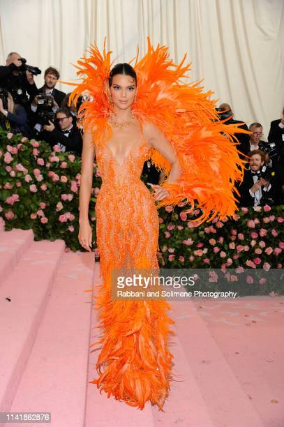 Kendall Jenner The 2019 Met Gala Celebrating Camp Notes On Fashion Arrivalsat The Metropolitan Museum of Art on May 6 2019 in New York City