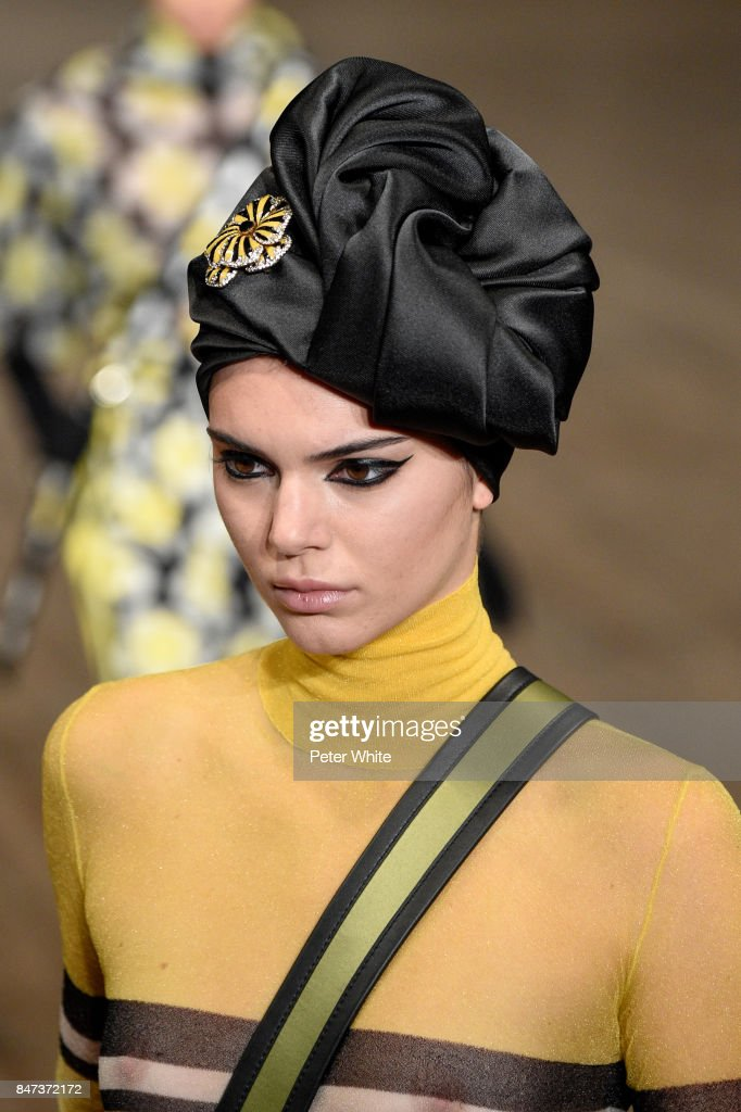 Kendall Jenner Walks The Runway At Marc Jacobs Show During New York