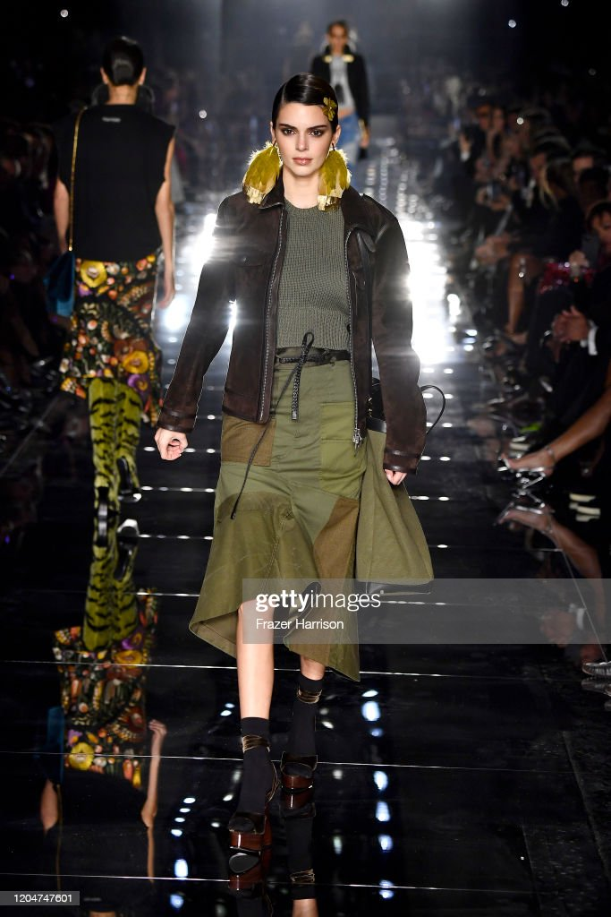 Tom Ford AW20 Show - Runway : ニュース写真