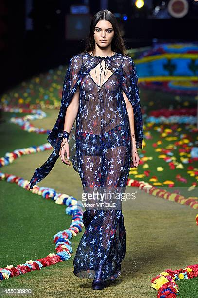 48d2ba52a616 Kendall Jenner walks the runway at Tommy Hilfiger Women s fashion show  during MercedesBenz Fashion Week Spring
