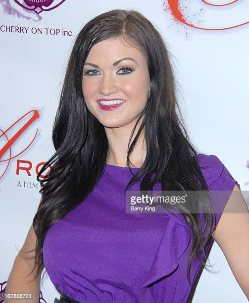 """Kendall Karson attends the """"Aroused"""" - Los Angeles Premiere on May 1, 2013 at the Landmark Nuart Theatre in Los Angeles, California."""
