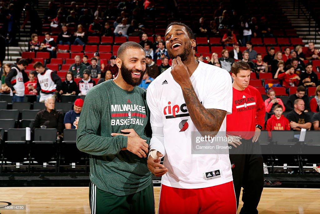 Milwaukee Bucks v Portland Trail Blazers