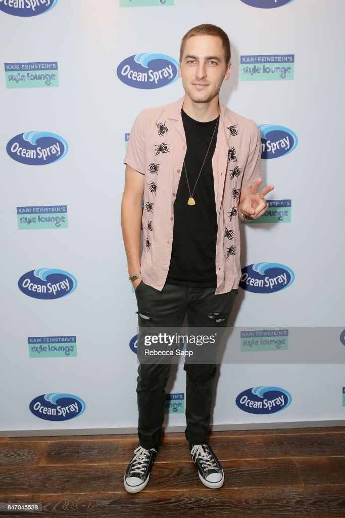 Kendall Schmidt attends Kari Feinstein's Style Lounge presented by Ocean Spray at the Andaz Hotel on September 14, 2017 in Los Angeles, California.