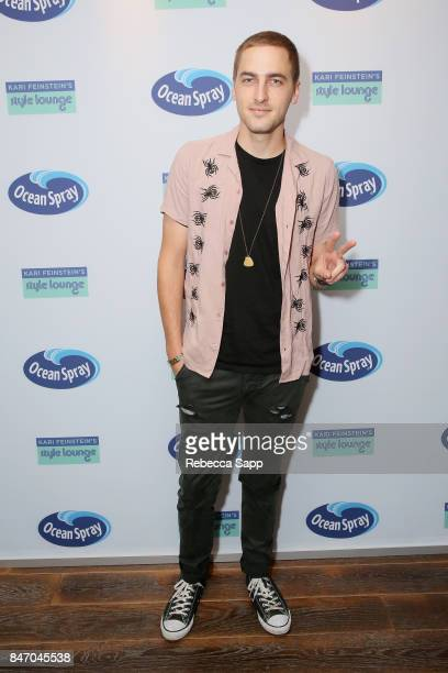 Kendall Schmidt attends Kari Feinstein's Style Lounge presented by Ocean Spray at the Andaz Hotel on September 14 2017 in Los Angeles California
