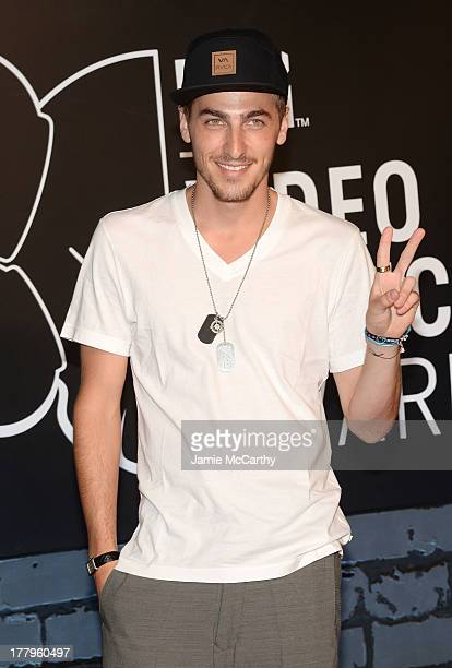 Kendall Schmidt attends the 2013 MTV Video Music Awards at the Barclays Center on August 25 2013 in the Brooklyn borough of New York City