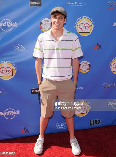Kendall Schmidt attends the 3rd Annual George Lopez Golf Classic at Lakeside Golf Club on May 3 2010 in Toluca Lake California