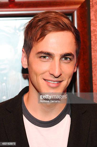 Kendall Schmidt attends the Heffron Drive Winter Tour announcement Planet Hollywood Times Square on December 2 2013 in New York City