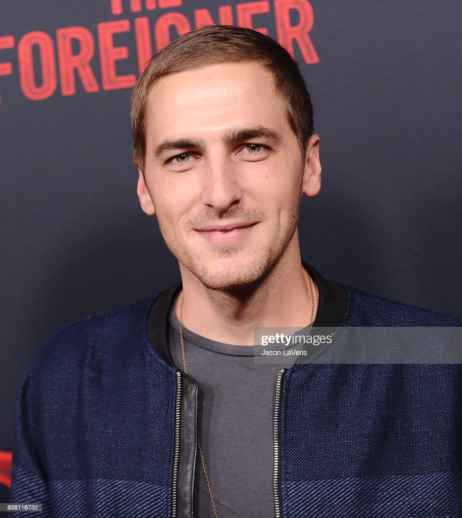 Kendall Schmidt attends the premiere of 'The Foreigner' at ArcLight Hollywood on October 5, 2017 in Hollywood, California.