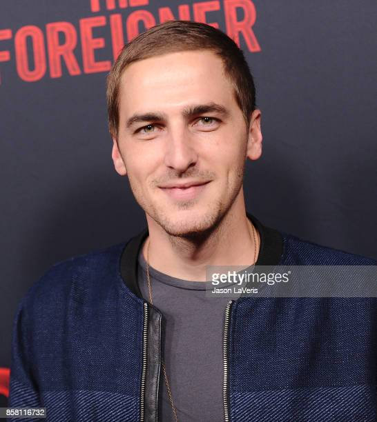 Kendall Schmidt attends the premiere of 'The Foreigner' at ArcLight Hollywood on October 5 2017 in Hollywood California
