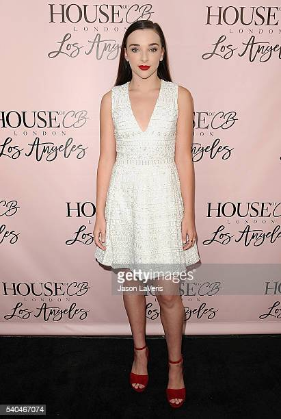 Kendall Vertes attends the House of CB flagship store launch at House Of CB on June 14 2016 in West Hollywood California