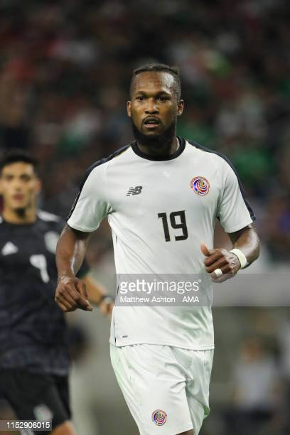 Kendall Waston of Costa Rica during the 2019 CONCACAF Gold Cup Quarter Final match between Mexico v Costa Rica at NRG Stadium on June 29, 2019 in...