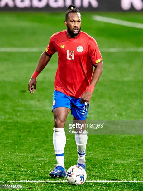 Kendall Waston of Costa Rica during the friendly match between Euskadi and Costa Rica played at Ipurua Stadium on 16 November 2020 in Eibar Spain