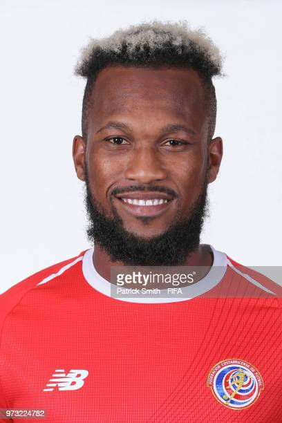 Kendall Waston of Costa Rica poses for a portrait during the official FIFA World Cup 2018 portrait session at the Hilton Saint Petersburg ExpoForum...