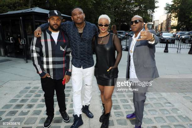 Kendall Young Sav Freeman Maino Bobbi Storm and Styles P attend the 3rd Annual Influence Awards at City Hall on June 11 2018 in New York City