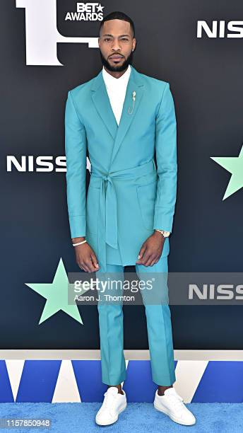 KendallKyndall attends the 2019 BET Awards at Microsoft Theater on June 23 2019 in Los Angeles California