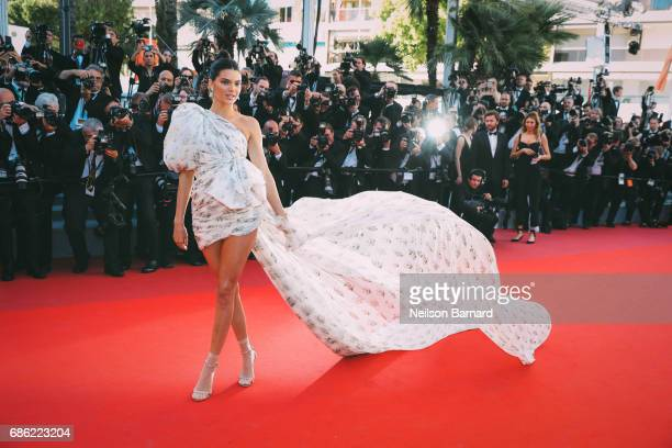 Kendell Jenner attends the '120 Beats Per Minute ' screening during the 70th annual Cannes Film Festival at on May 20, 2017 in Cannes, France.