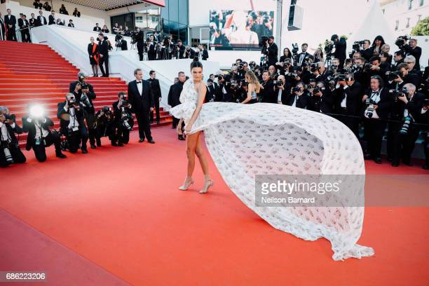 Kendell Jenner attends the '120 Beats Per Minute ' screening during the 70th annual Cannes Film Festival at on May 20 2017 in Cannes France